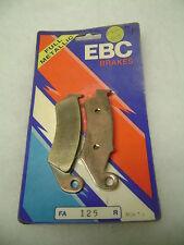 NEW nos EBC FA 125 BRAKE PADS FOR HONDA CR and XR MODELS