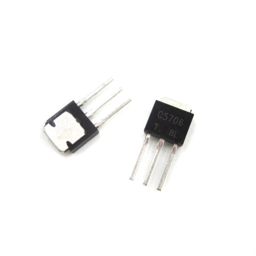 10PCS//50PCS Transistor C5706 2SC5706 Switch Transistor for LCD Repair TO-251 lot