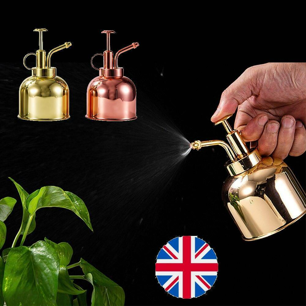 350ML Mini Watering Can Plant Watering Pot Spray Bottle Nordic Style Vintage