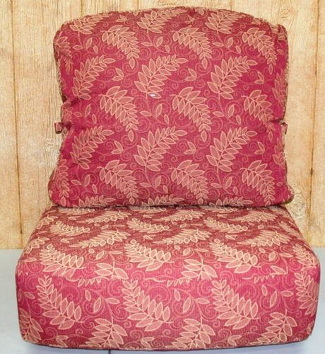 25x24x6 **NEW** Outdoor Deep Seat Cushion Set ~ Madeira Excursion ~ 26x20x4