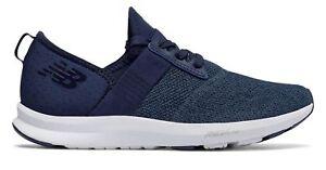 Détails sur New Balance Femme fuelcore nergize confortable Formation Chaussures Bleu Marine avec Blanc afficher le titre d'origine