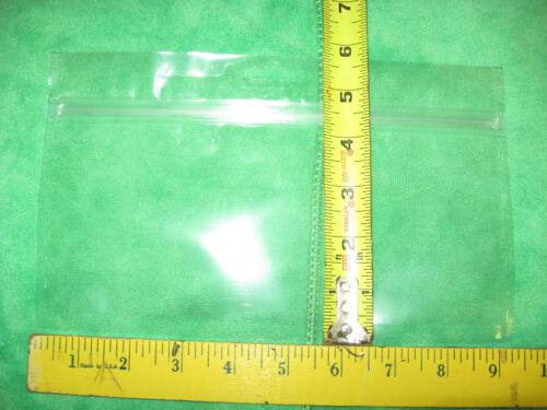 Nouveau 9x4 Plastique Stratifié Zip Ver Sacs /& sont également sécurité alimentaire