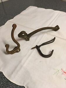 3-Reclaimed-Hardware-Mixed-Metals-Coat-Hooks-Architectural-Salvage-Random