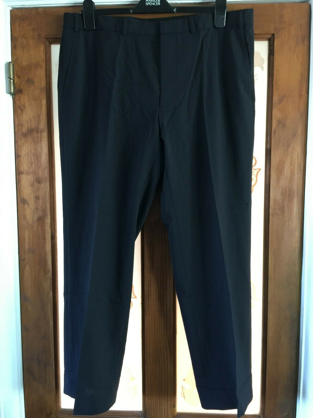 Mens Trousers. (Suit Trousers). Marks and Spencer Tailoring. Waist 38  Leg 29