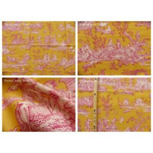 Coupon-fabric-bro-of-4-seasons-canvas-pink-yellow-background