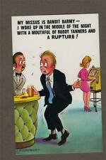 Bamforth Comic Black Triangle Fruit Machine / Barman no.20 Postcard new q7