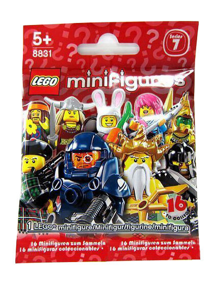 Lego hippie//flower power series 7 unopened new factory sealed