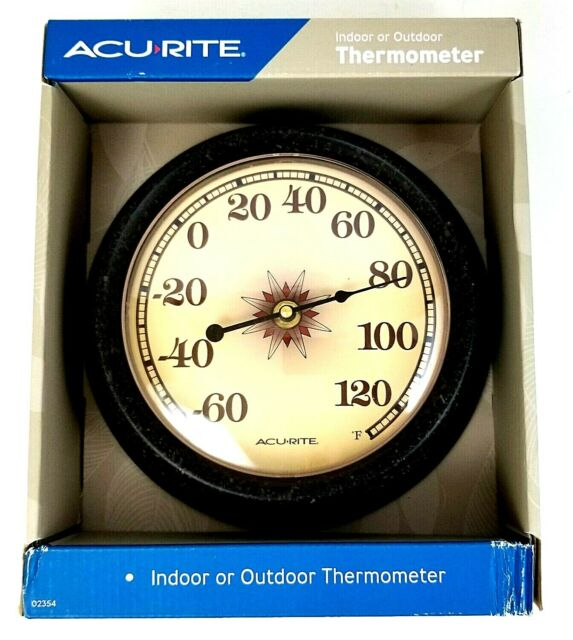 ghdonat.com AcuRite 02354A2SB 8.5-inch Desert Star Thermometer ...