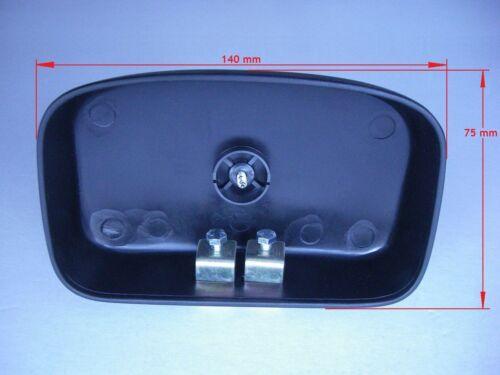 Instalación exterior espejo espejo adicional toterwinkelspiegel ca 140 x 75 mm r450 °