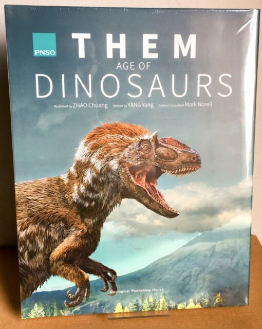 PNSO THEM: Age Of Dinosaurs Book