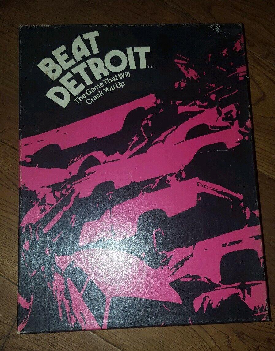 tienda en linea VIBTAGE Beat Detroit juego por por por diseño dinámico, de 1972, Completa, Estantería  deportes calientes