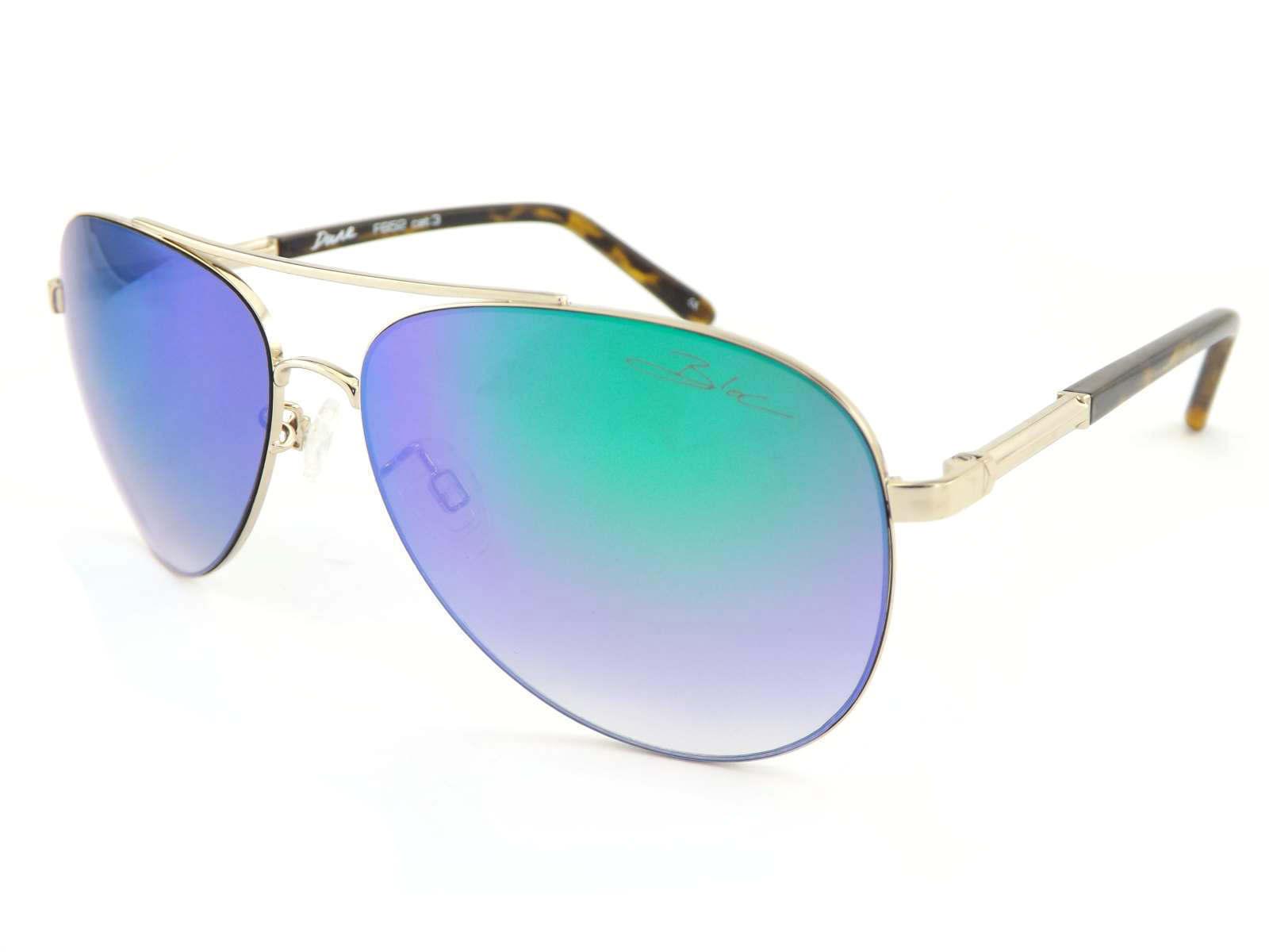 BLOC unisex DUNE metal Sunglasses Light Gold -Tortoise -Tortoise -Tortoise  Grün Mirror Lens F652 | Speichern  89f9d9