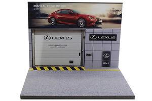 DéTerminé Diorama Présentoir Garage Lexus - 1/43ème - #43-2-a-a-092