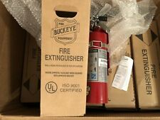 10x Fire Extinguisher 25lb Abc Dry Chemical Rechargeable Dot Vehicle Bracket Ul