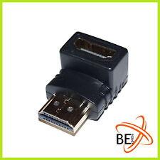HDMI Adapter Winkeladapter HDMI Stecker auf Buchse 90° abgewinkelt 3D FullHD PS4