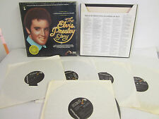 The Elvis Presley Story, A Limited Edition Collectors Treasury, 5 LP Vinyl Set