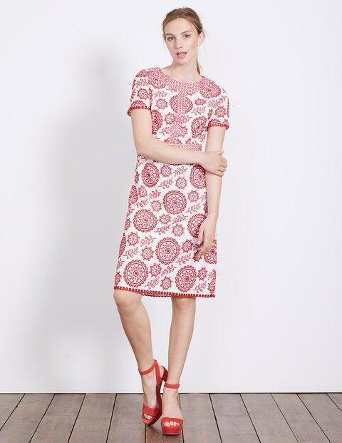 9cdb55e6ae Boden Mila Broderie Dress Size R LF171 DD 05 Red ntqqyn353-Dresses ...