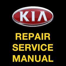KIA RIO 2001 2002 2003 2004 2005 SERVICE REPAIR MANUAL