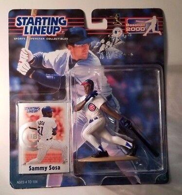 Sammy Sosa 2000 Starting Lineup Chicago Cubs Unopened