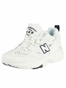 Details about New Balance Men's 608 Leather Trainers, White