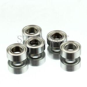 5 PCS MR83zz Mini Metal Double Shielded  Ball Bearings 3mm*8mm*3mm