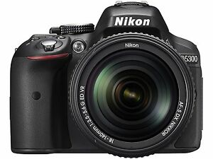 Nikon D5300 with (AF-S 18-140 mm VR Lens) DSLR Free...