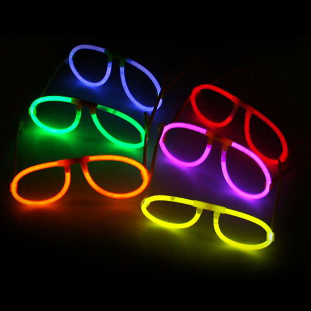 100X Multi Color Glow Sticks Glasses Light Shining Party toy Glow In The Dark