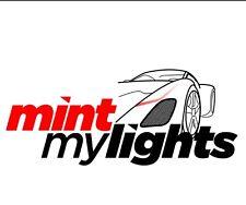 SPI VISION HEAD LIGHT TINT ROAD LEGAL VINYL TINTING FILM MOT PASS (LIKE FLY EYE)