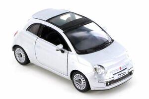 FIAT 500-Kinsmart 5345D - 1/28 SCALA DIECAST MODELLO AUTO GIOCATTOLO