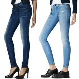 G-Star Midge Sculpted Low Waist Skinny Damen Jeans Hose Jeanshose Röhrenjeans
