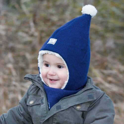 PICKAPOOH Baby//Kinder Mütze Jim Bio-Wollwalk