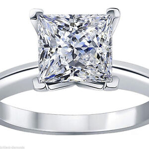 3ct-Princess-Cut-Classic-Solitaire-Engagement-Promise-Ring-Solid-14k-White-Gold