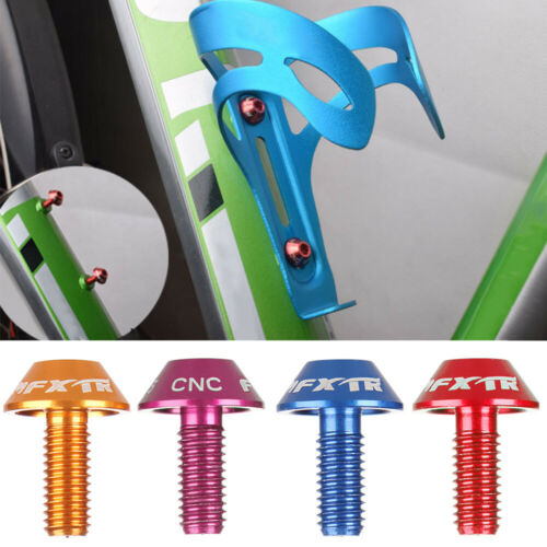 Water Bottle Mountain Bike Screw Bolts Stainless Steel Screw Holder Cage