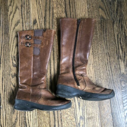 Keen Womens Bern Baby Bern Boots Size 6.5 Leather