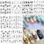 24-Sheets-Mixed-Flower-3D-Nail-Art-Stickers-Manicure-Tips-Decals-Water-Transfer miniature 2