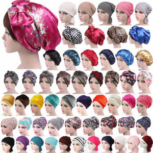Women-Cancer-Hat-Chemo-Cap-Muslim-Hair-Loss-Head-Scarf-Turban-Head-Wrap-Cover