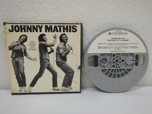 JOHNNY-MATHIS-The-Heart-Of-A-Woman-3-IPS-4-Track-Reel-To-Tape-1974-1R1-6312