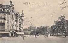 Leipzig AK 1905 Thomasring Wohnung des kommandierenden Generals Sachsen 1606346