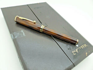 Sheaffer Grand Connoisseur Tortoiseshell Lacquered Fountain Pen New Cased Papers
