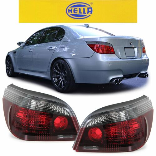 SMOKED BLACK LINE REAR LIGHTS LAMPS FOR BMW E60 5 SERIES SALOON  07//2003-02//2007