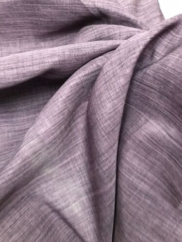 Curtain Fabric Prestigious Lavender Brookville Tweed Linen Weave 9 Metre Roll