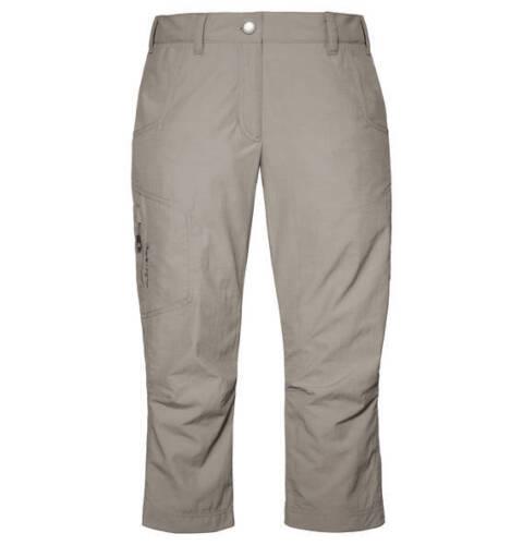 SCHÖFFEL Wibke Damen Hose 3//4 Wanderhose Caprihose beige grau elephant 40-48