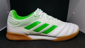 Adidas-Copa-19-3-Indoor-Sala-white-green-Indoor-Soccer-Shoes-BC0559