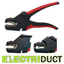 Automatic Wire Stripper with Cable Cutter - Hand Tool - Electriduct