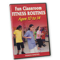 Fun Classroom Fitness Dvd Ages 10-14 on sale