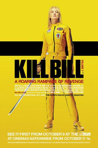 W179  Kill Bill Uma Thurman Quentin Tarantino Classic Movie Poster fabric 24x36