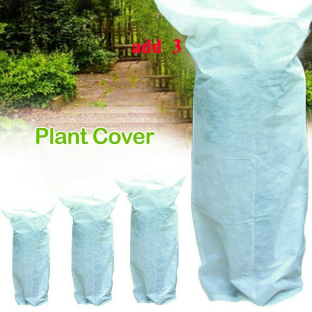 Anti-frost Plant Cover Drawstring Warm Winter Frost Outdoor Protection