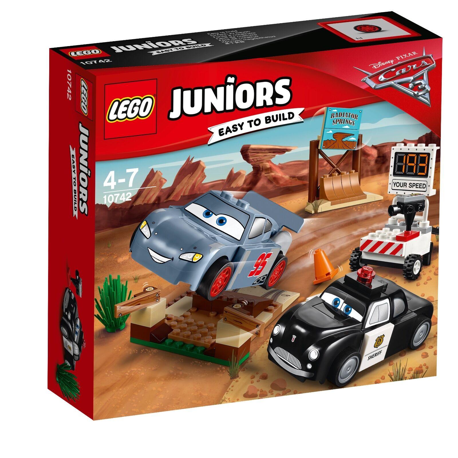 LEGO ® Juniors 10742 vertiginoso Training giri in Il diavolo ridotta NUOVO OVP _ NEW