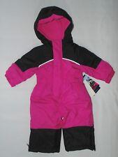 2e101b5b6 Kensie Baby Girls 2 Piece Snowsuit Black 12 Months