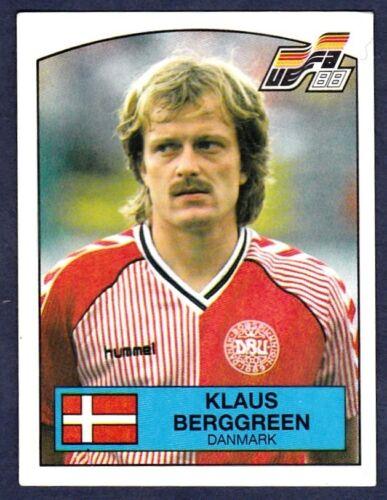 PANINI EURO 88-#119-DENMARK-KLAUS BERGGREEN